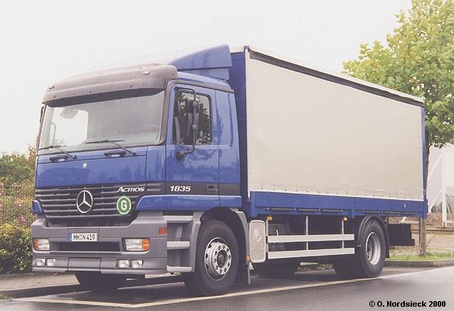 Mercedes Benz Actros