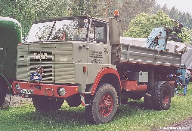 Njemački ex-proizvođači 02060819-Hanomag-Henschel-F161AK-Prkipper-m-Ladekr-graubeige
