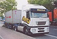 Iveco Stralis AS 20ft-Containersattelzug