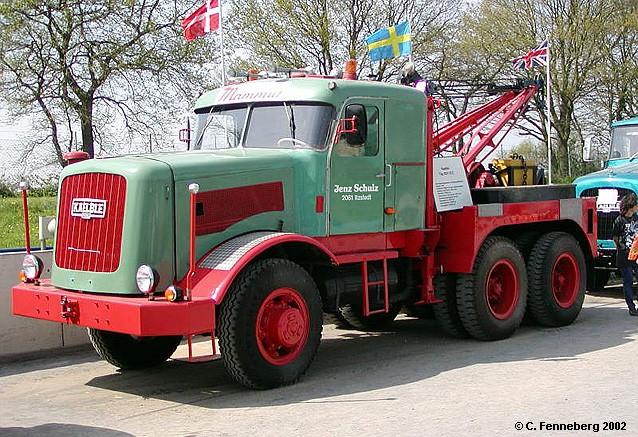 Kaelble KDV 22/32 Z Lkw-Abschleppwagen